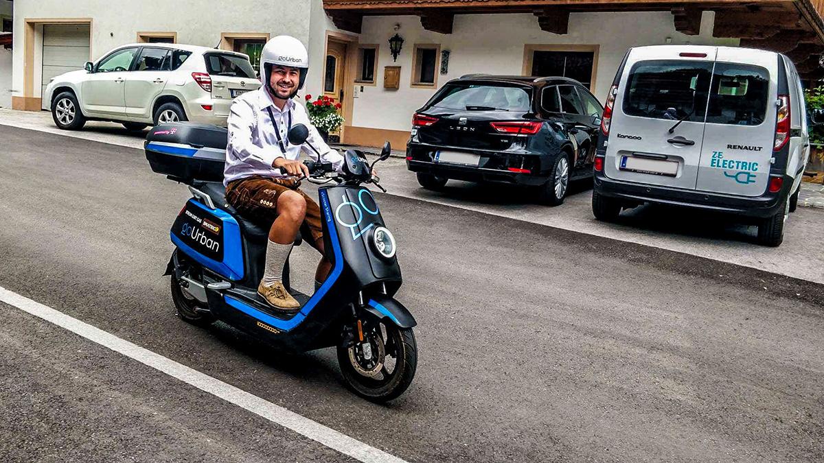goUrban: Magenta Telekom bringt Elektro-Mopeds nach Alpbach