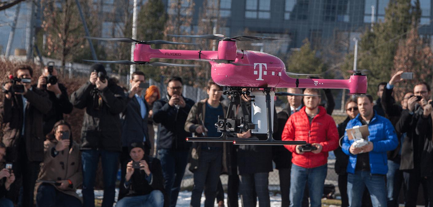 Drohne trifft Wissenschaft: Universität Klagenfurt und Magenta Telekom forschen für die Unterstützung aus der Luft