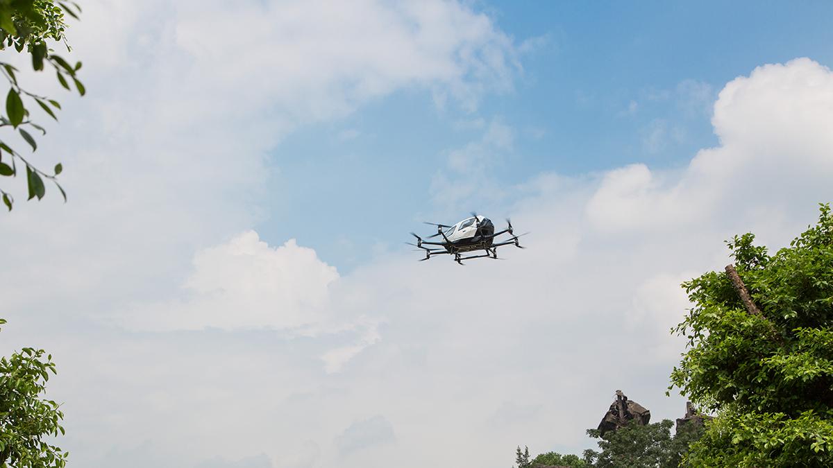 Drohnen-News beim Digital Innovation Talk im T-Center