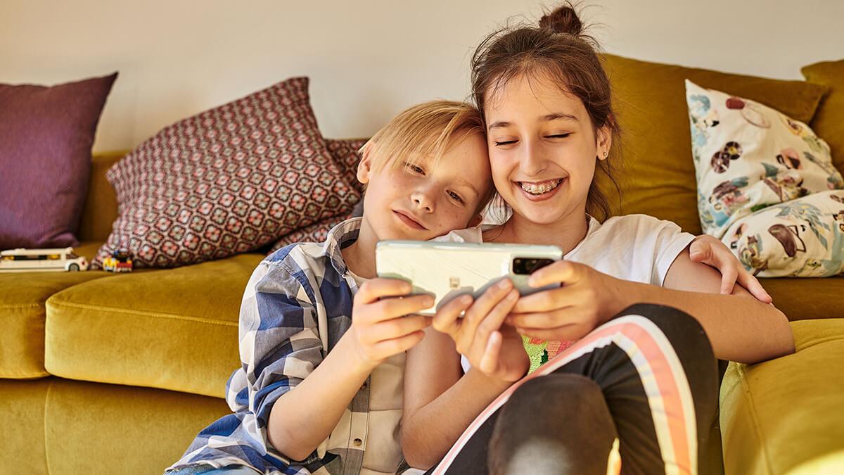 Kindertarif mit Smartphone für Kids von 6 bis 11 Jahren