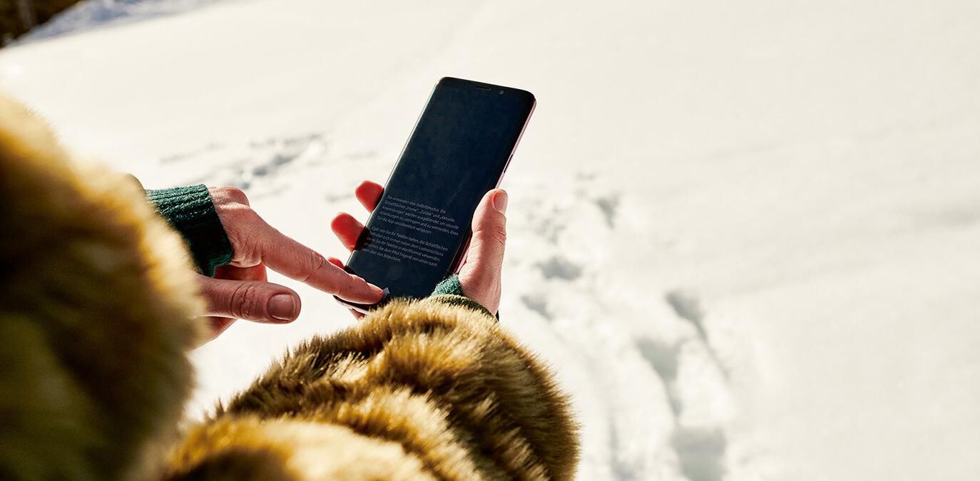 Der Kälteeinbruch kann mit diesen Gadgets kommen