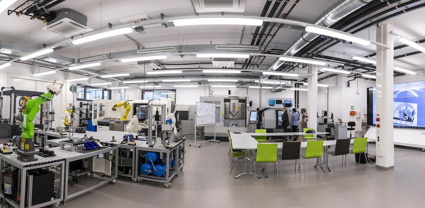 5G Campus-Netzwerk – smartfactory@tugraz startet den Vollbetrieb