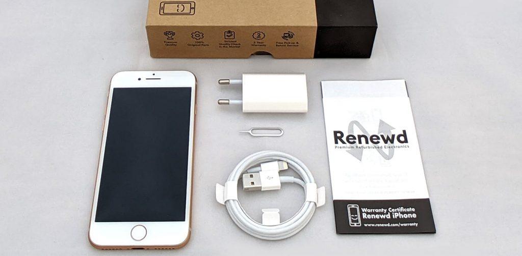 gebrauchtes iPhone 8 Magenta Renewed